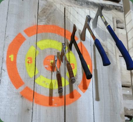 Lancer de hache